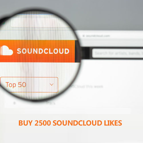 Buy 2500 Soundcloud Likes