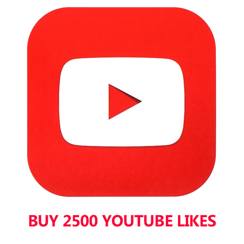 Buy 2500 YouTube Likes