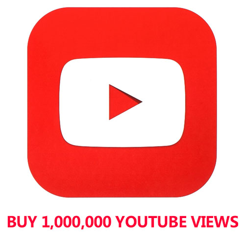 Buy 1,000,000 YouTube Views