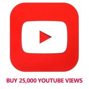 Buy 25,000 YouTube Views